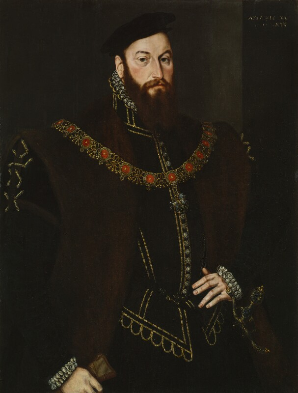 Anthony Browne, 1st Viscount Montagu, by Hans Eworth, 1569 - NPG 842 - © National Portrait Gallery, London