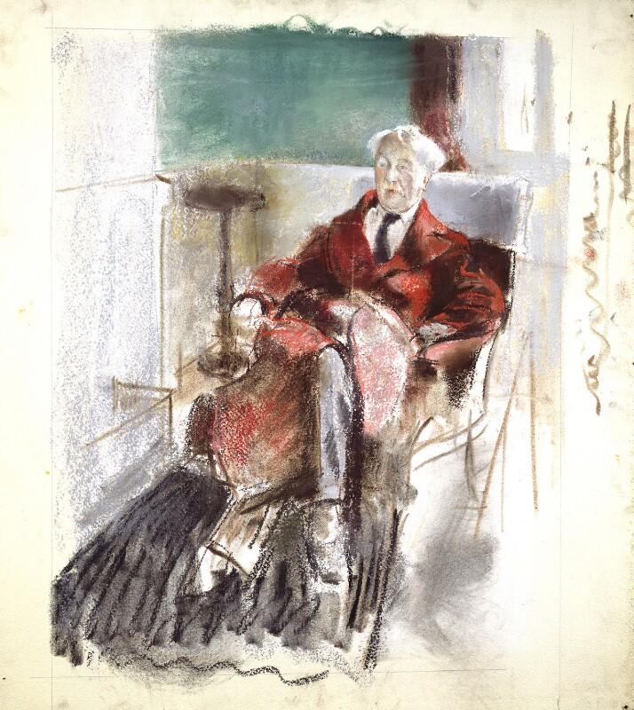 George Moore, by Henry Tonks, circa 1920 - NPG 2807 - © National Portrait Gallery, London