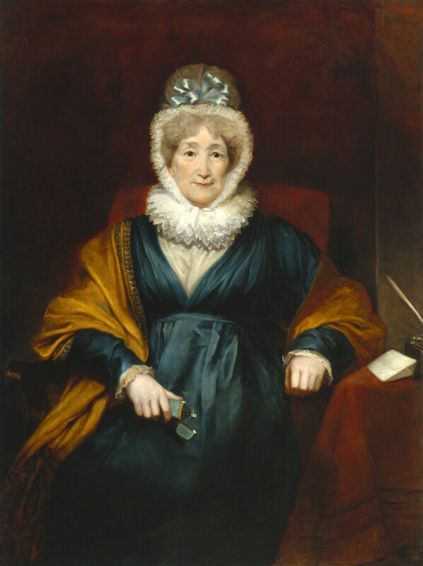 Hannah More, by Henry William Pickersgill, 1822 - NPG 412 - © National Portrait Gallery, London