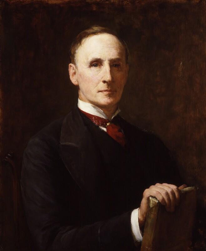 John Morley, 1st Viscount Morley of Blackburn, by Walter William Ouless, exhibited 1891 - NPG 3051 - © National Portrait Gallery, London