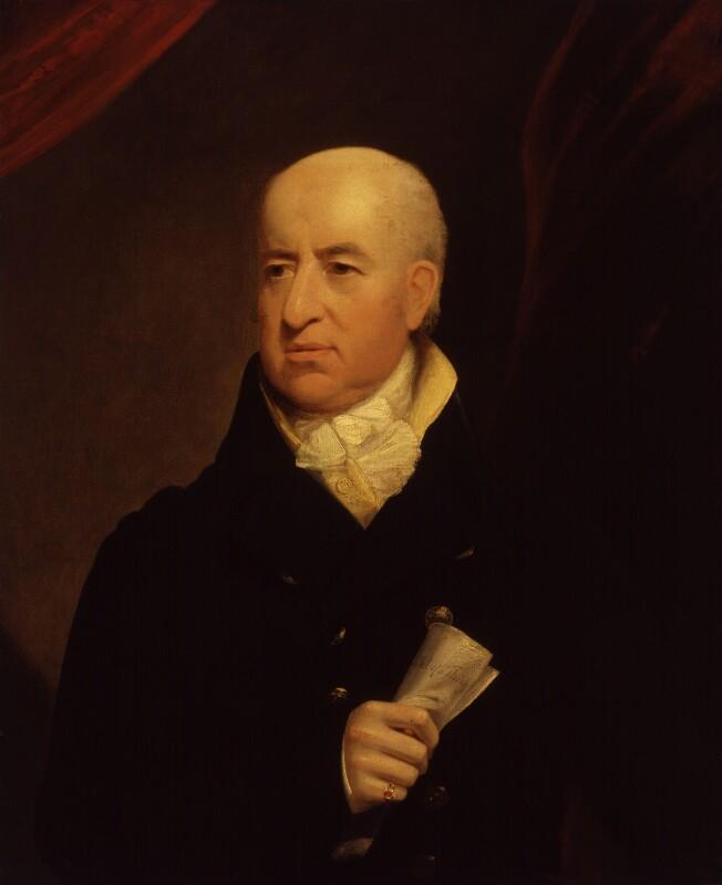 Charles Morris, by James Lonsdale, circa 1814 - NPG 739 - © National Portrait Gallery, London