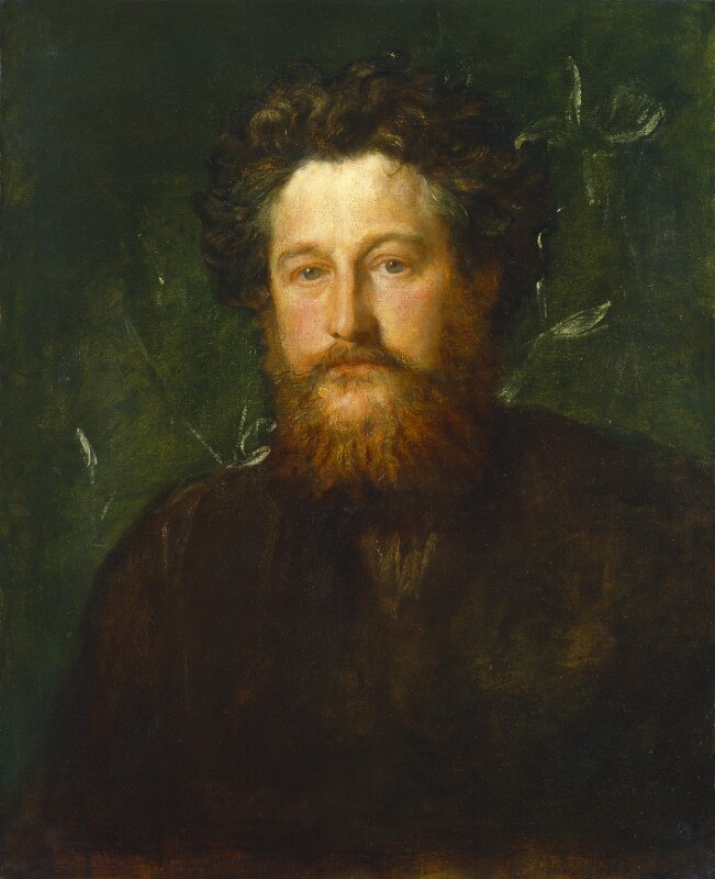 William Morris, by George Frederic Watts, 1870 - NPG 1078 - © National Portrait Gallery, London