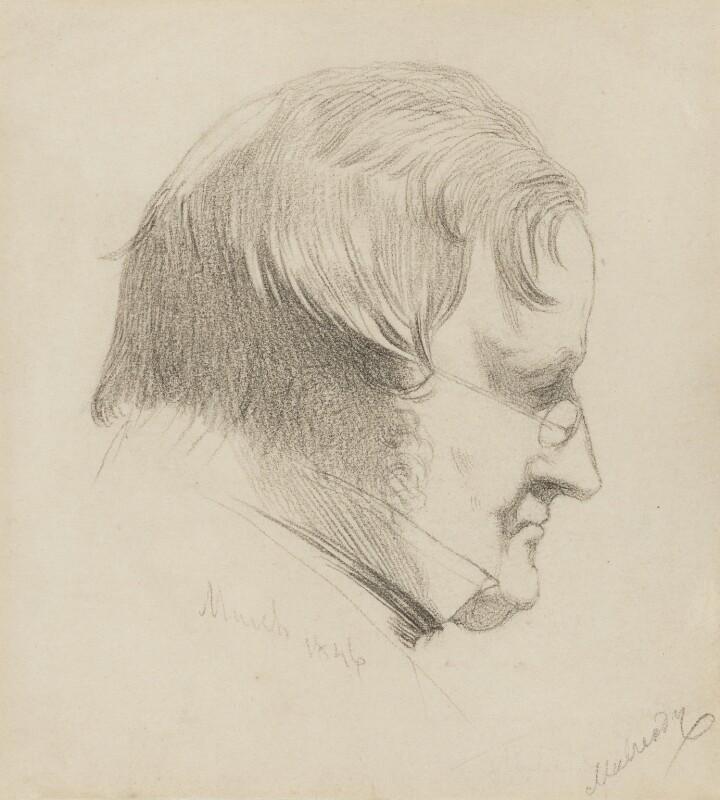 William Mulready, by Charles Hutton Lear, 1846 -NPG 1456(22) - © National Portrait Gallery, London