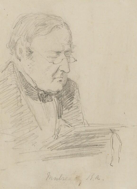 William Mulready, by Charles Bell Birch, circa 1858 -NPG 2473 - © National Portrait Gallery, London