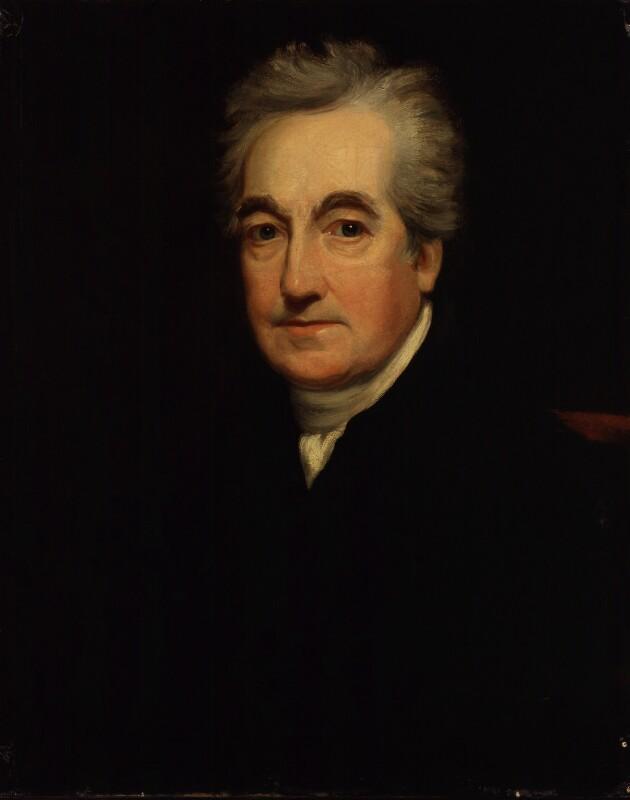 Joseph Shepherd Munden, by George Clint, circa 1822-1824 - NPG 1283 - © National Portrait Gallery, London