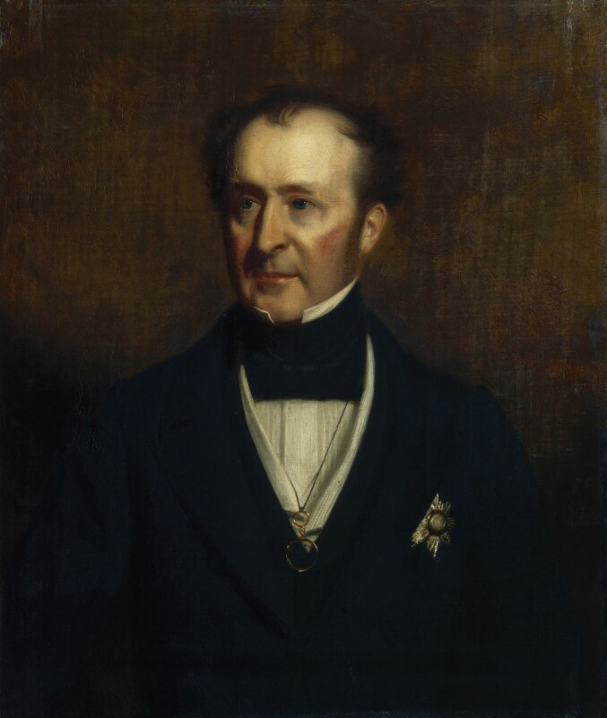 Sir Roderick Impey Murchison, 1st Bt, by Stephen Pearce, 1856 -NPG 906 - © National Portrait Gallery, London