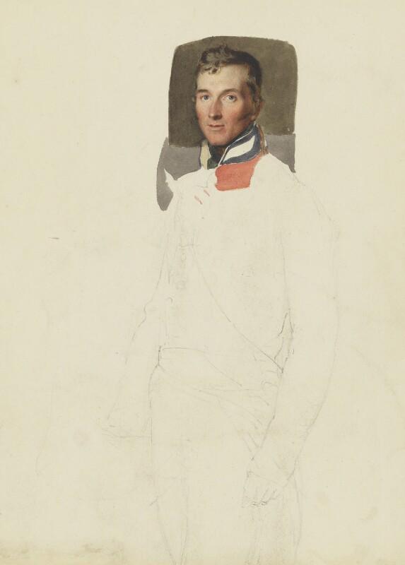 Sir George Murray, by Thomas Heaphy, circa 1813 -NPG 4319 - © National Portrait Gallery, London