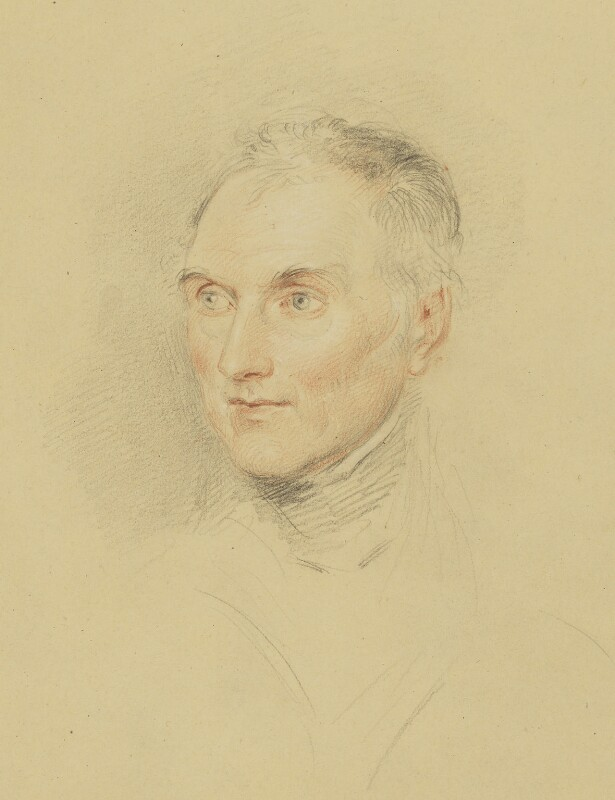 Sir George Murray, by John Linnell, 1836 - NPG 1818 - © National Portrait Gallery, London