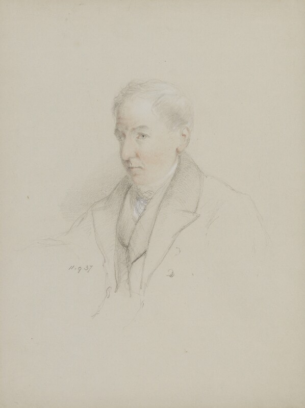 John Samuel Murray, by William Brockedon, 1837 -NPG 2515(83) - © National Portrait Gallery, London