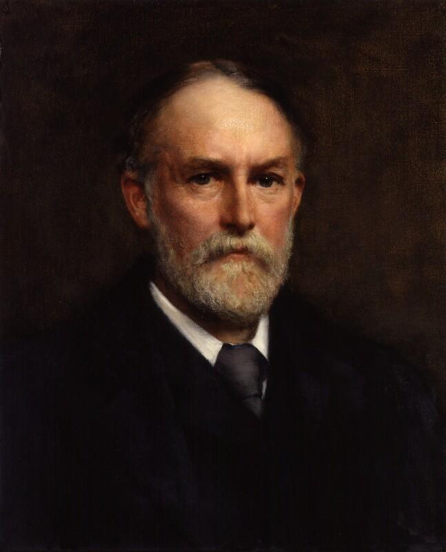 Frederic William Henry Myers, by William Clarke Wontner, exhibited 1896 - NPG 2928 - © National Portrait Gallery, London