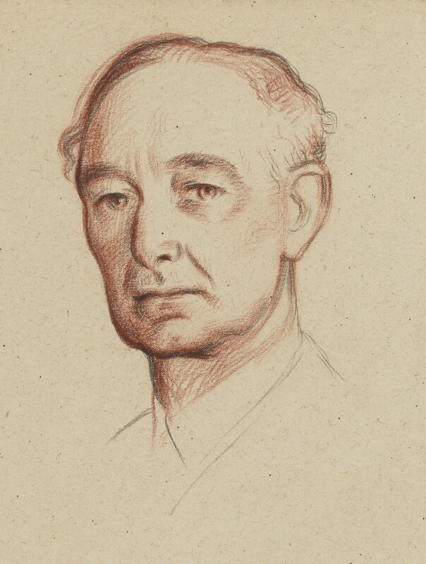 Leopold Hamilton Myers, by Sir William Rothenstein, circa 1936 - NPG 4790 - © National Portrait Gallery, London