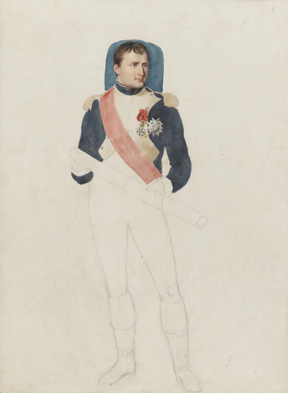 Napoléon Bonaparte, by Thomas Heaphy, circa 1813 - NPG 1914(22) - © National Portrait Gallery, London