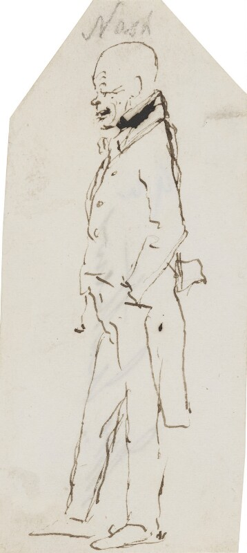 John Nash, by Sir Edwin Henry Landseer, circa 1830 - NPG 3097(7) - © National Portrait Gallery, London