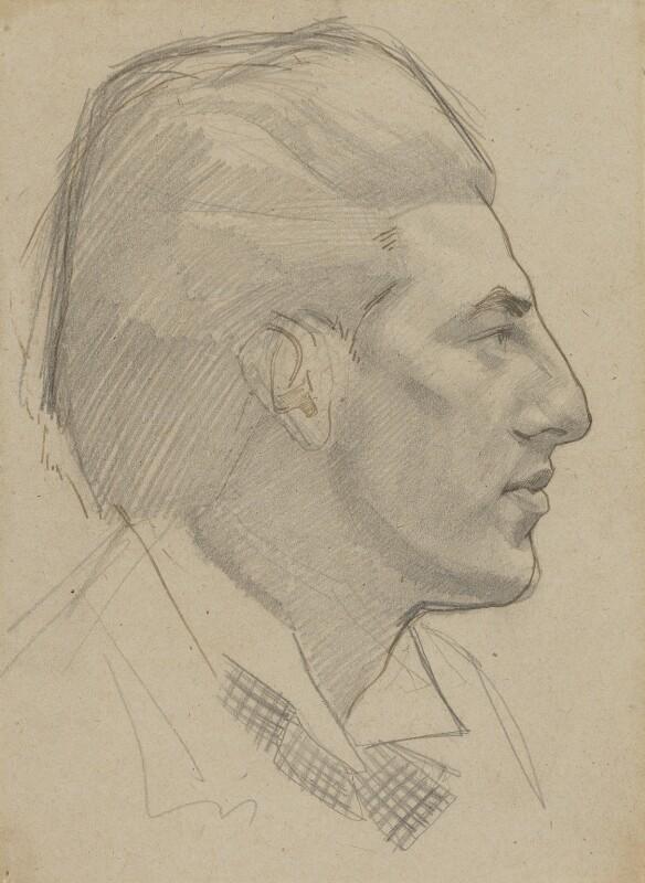 Paul Nash, by Rupert Lee, 1913 - NPG 4134 - © National Portrait Gallery, London