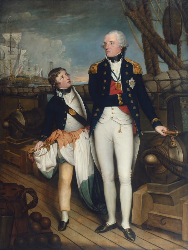 Horatio Nelson, by Guy Head, 1798-1799 - NPG 5101 - © National Portrait Gallery, London