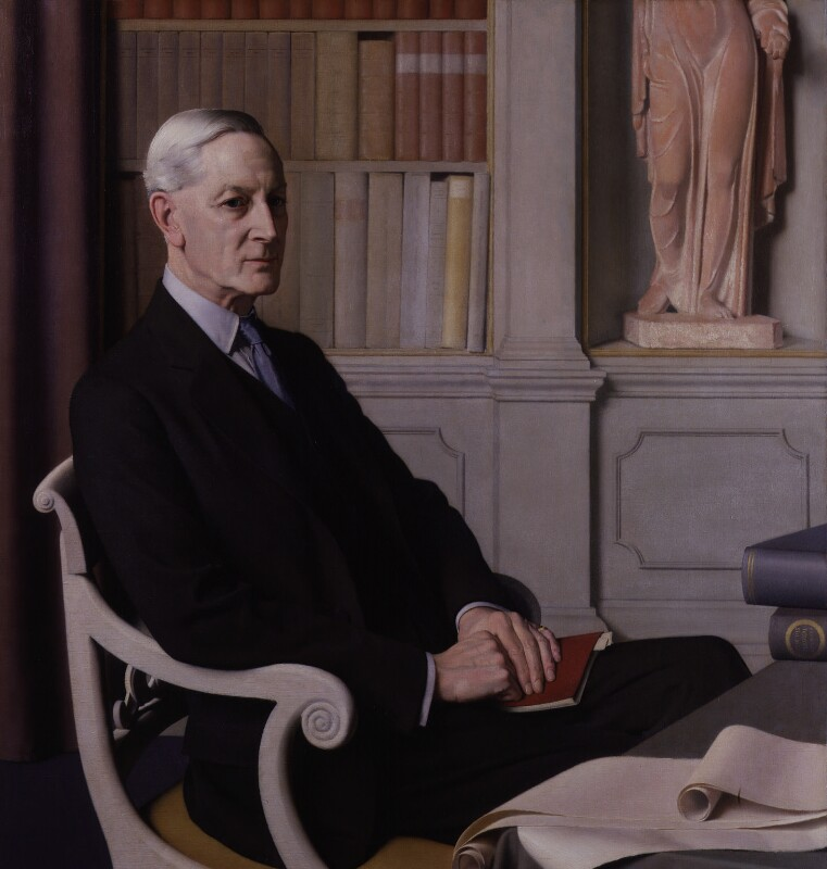 Sir Henry John Newbolt, by Meredith Frampton, 1931 - NPG 4664 - © Peter Newbolt / National Portrait Gallery, London