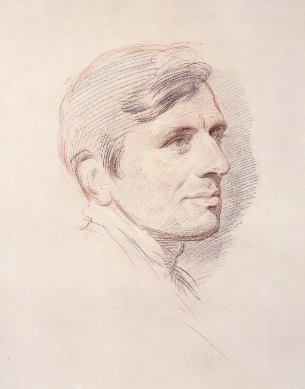 John Newman, by George Richmond, 1844 - NPG 1065 - © National Portrait Gallery, London