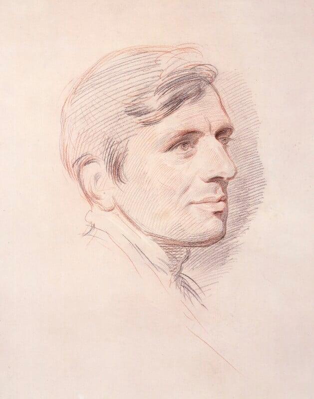 John Newman, by George Richmond, 1844 -NPG 1065 - © National Portrait Gallery, London