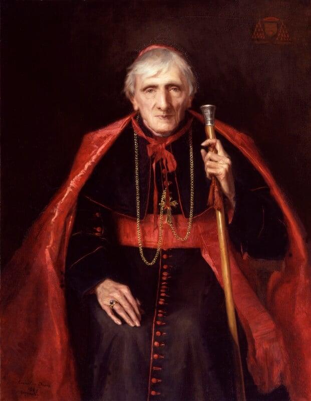 John Newman, by Emmeline Deane, 1889 -NPG 1022 - © National Portrait Gallery, London
