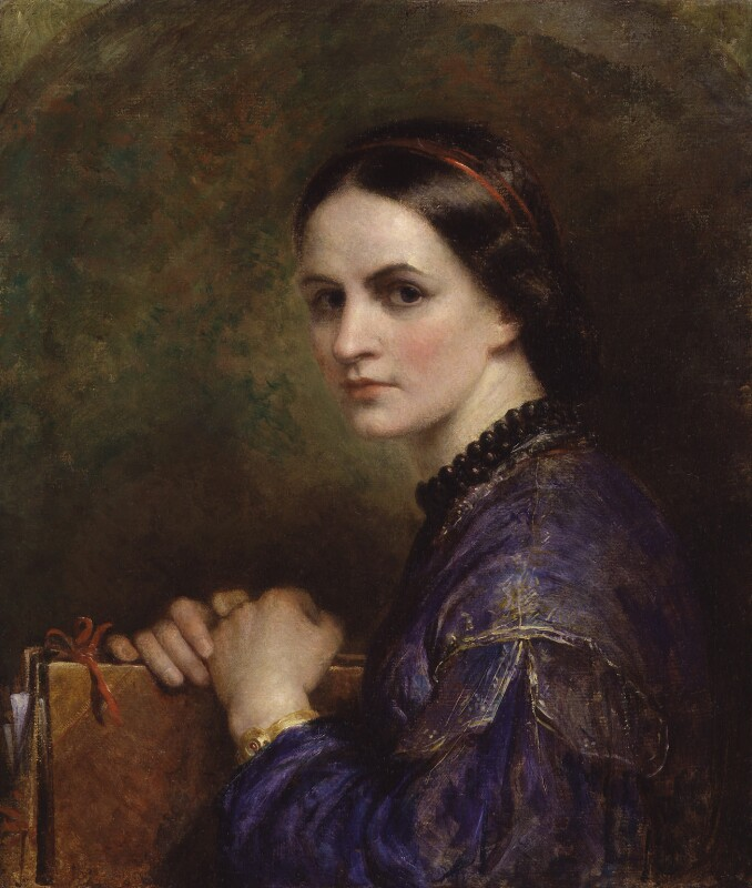 Ann Mary Newton, by Ann Mary Newton, circa 1862 - NPG 977 - © National Portrait Gallery, London
