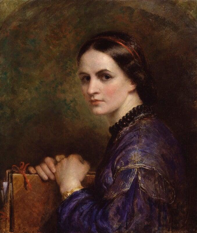 Ann Mary Newton, by Ann Mary Newton, circa 1862 -NPG 977 - © National Portrait Gallery, London