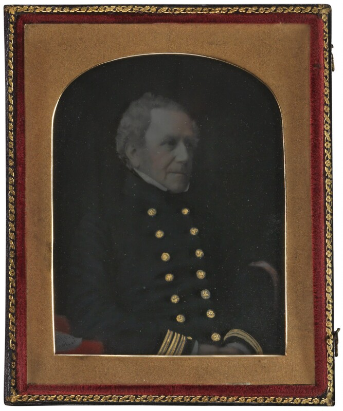 Sir Joseph Nias, by Unknown photographer,  - NPG P2 - © National Portrait Gallery, London