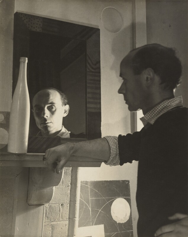 Ben Nicholson, by Humphrey Spender, circa 1935 - NPG P42 - © National Portrait Gallery, London