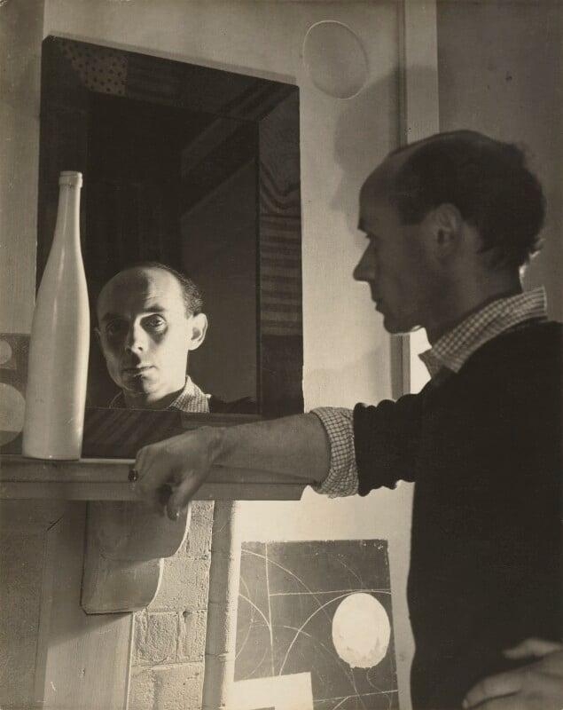 Ben Nicholson, by Humphrey Spender, circa 1935 - NPG P42 - © National Portrait Gallery, London