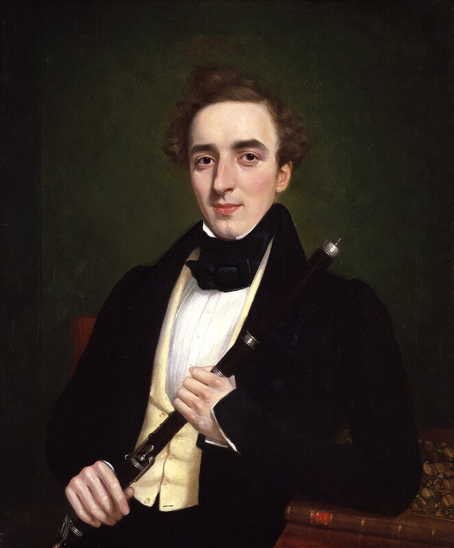 Charles Nicholson, by T. Bart, 1834 - NPG 5200 - © National Portrait Gallery, London