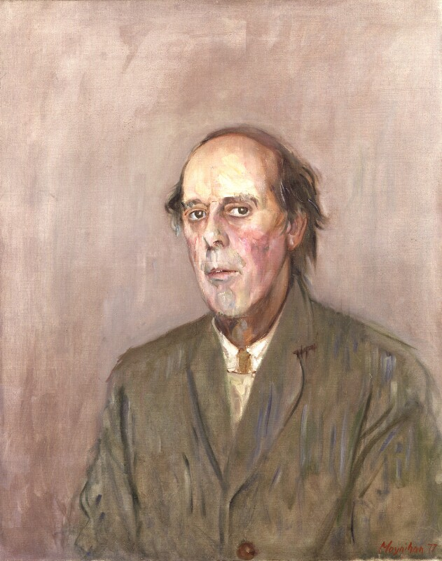 Benedict Nicolson, by Rodrigo Moynihan, 1977-1978 - NPG 5233 - © National Portrait Gallery, London