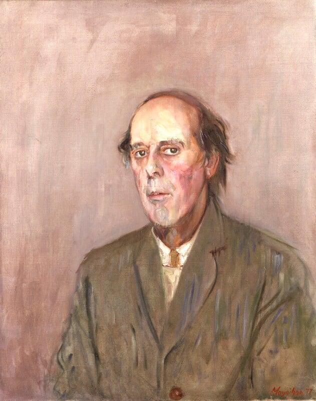 Benedict Nicolson, by Rodrigo Moynihan, 1977-1978 - NPG 5233 - © National Portrait Gallery, London