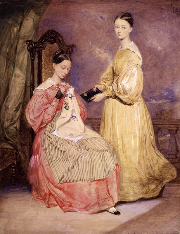 Florence Nightingale; Frances Parthenope, Lady Verney, by William White, circa 1836 - NPG 3246 - © National Portrait Gallery, London