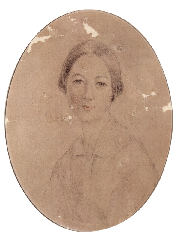 Florence Nightingale, by Elizabeth (née Rigby), Lady Eastlake, 1846 - NPG 3254 - © National Portrait Gallery, London