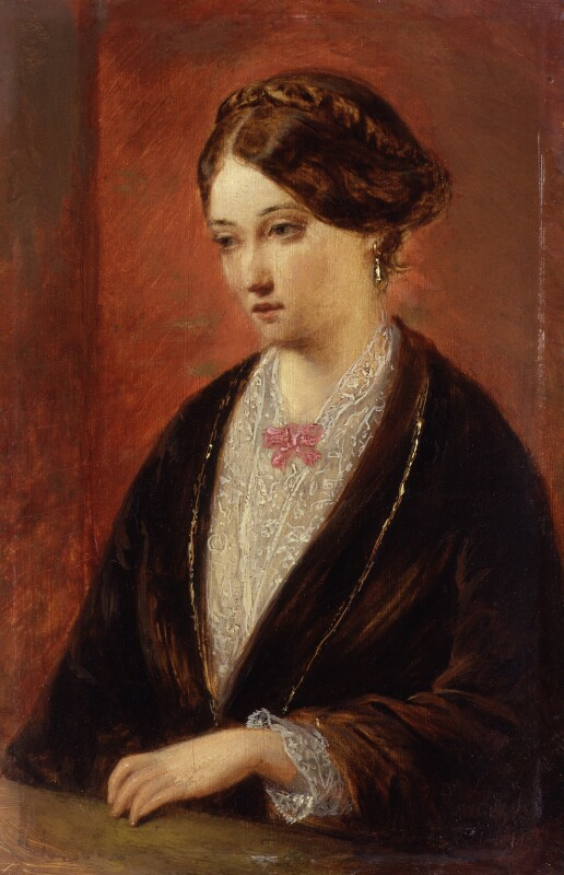 Unknown woman, formerly known as Florence Nightingale, by Augustus Leopold Egg,  - NPG 1578 - © National Portrait Gallery, London