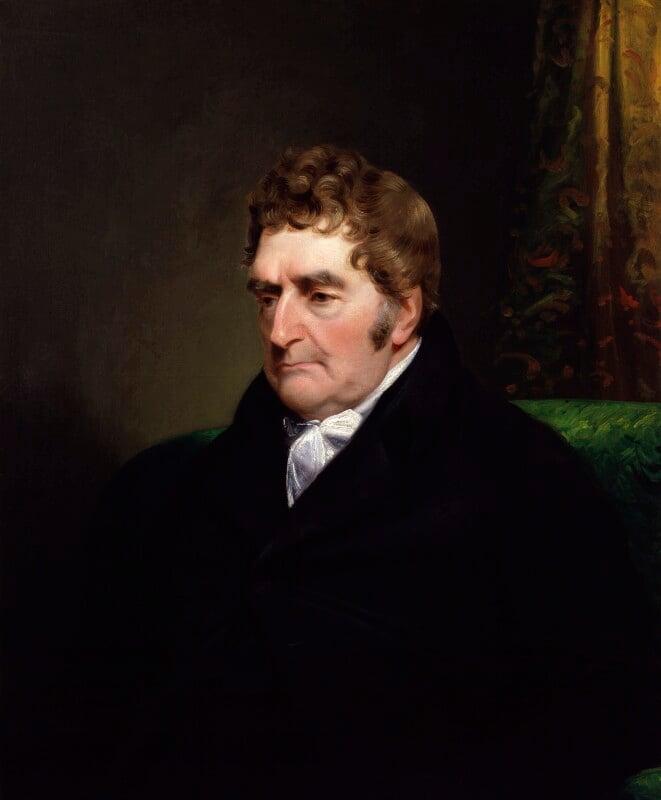 Joseph Nollekens, by James Lonsdale, circa 1818 - NPG 360 - © National Portrait Gallery, London