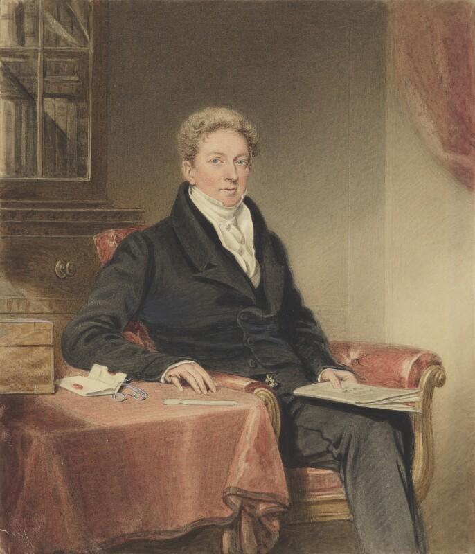 John William Norie, by Adam Buck, after  Williams (Solomon Williams?), circa 1803 - NPG 1131 - © National Portrait Gallery, London