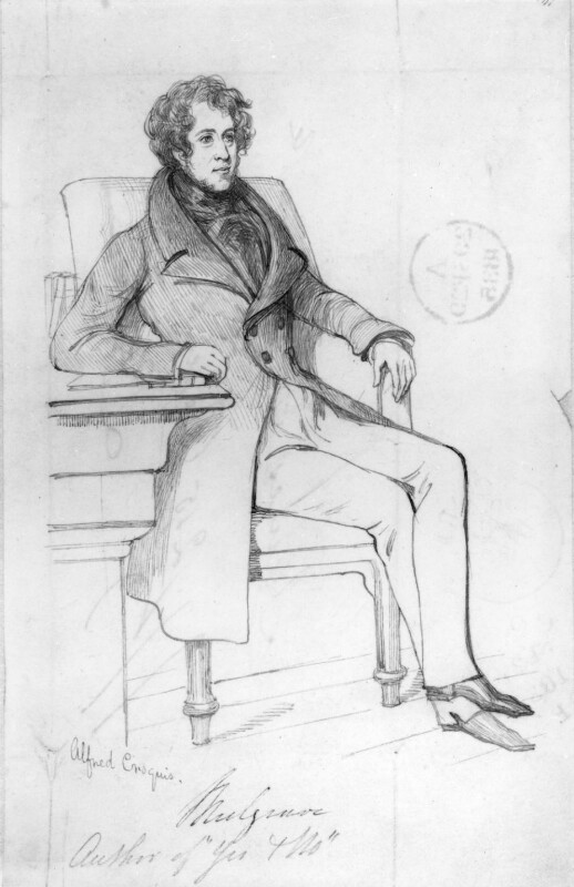 Constantine Henry Phipps, 1st Marquess of Normanby, by Daniel Maclise, published 1835 -NPG 3139 - © National Portrait Gallery, London
