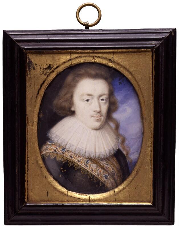 Dudley North, 4th Baron North, by John Hoskins, circa 1628 - NPG 6303 - © National Portrait Gallery, London