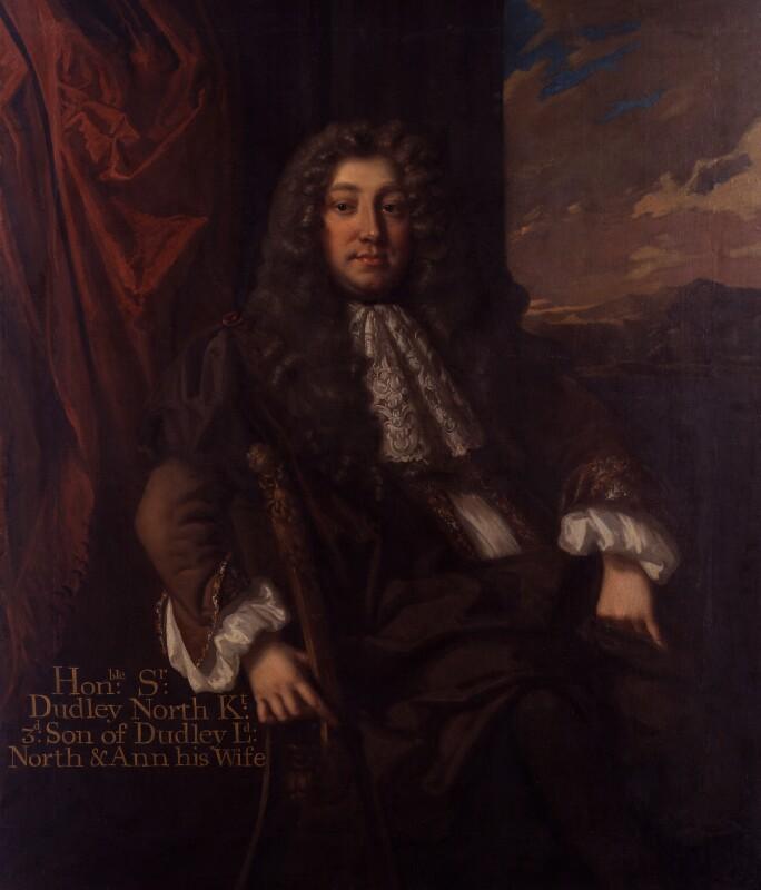 Sir Dudley North, by Unknown artist, circa 1680 - NPG 4709 - © National Portrait Gallery, London