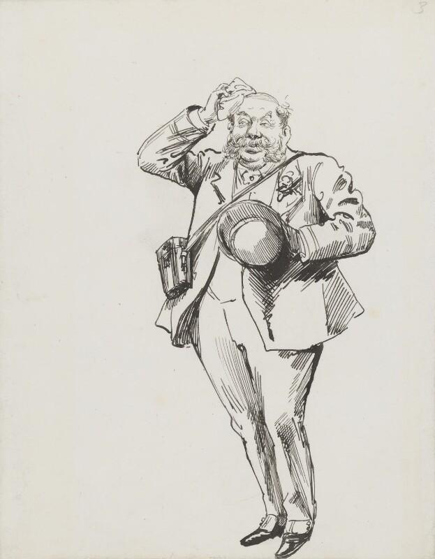John Thomas North, by Harry Furniss, circa 1893 - NPG 3594 - © National Portrait Gallery, London