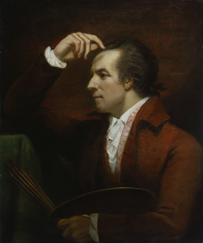 James Northcote, by James Northcote, 1784 - NPG 3253 - © National Portrait Gallery, London