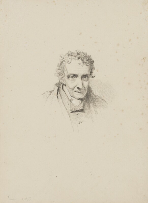 James Northcote, by William Brockedon, 1825 - NPG 2515(5) - © National Portrait Gallery, London
