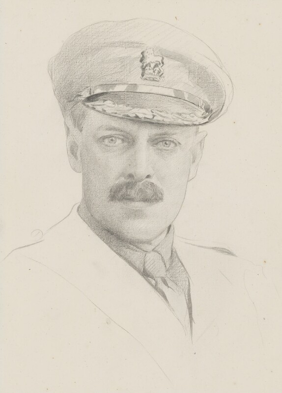 Sir John Norton-Griffiths, 1st Bt, by James Kerr-Lawson,  - NPG 4333 - © National Portrait Gallery, London
