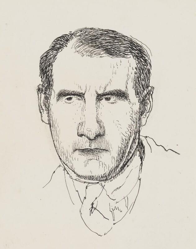 Sean O'Casey, by Powys Evans, published 1927 - NPG 4402 - © estate of Powys Evans