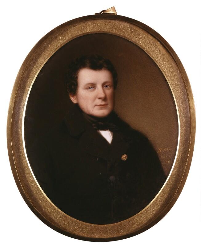 Daniel O'Connell, by Bernard Mulrenin, 1836 - NPG 208 - © National Portrait Gallery, London