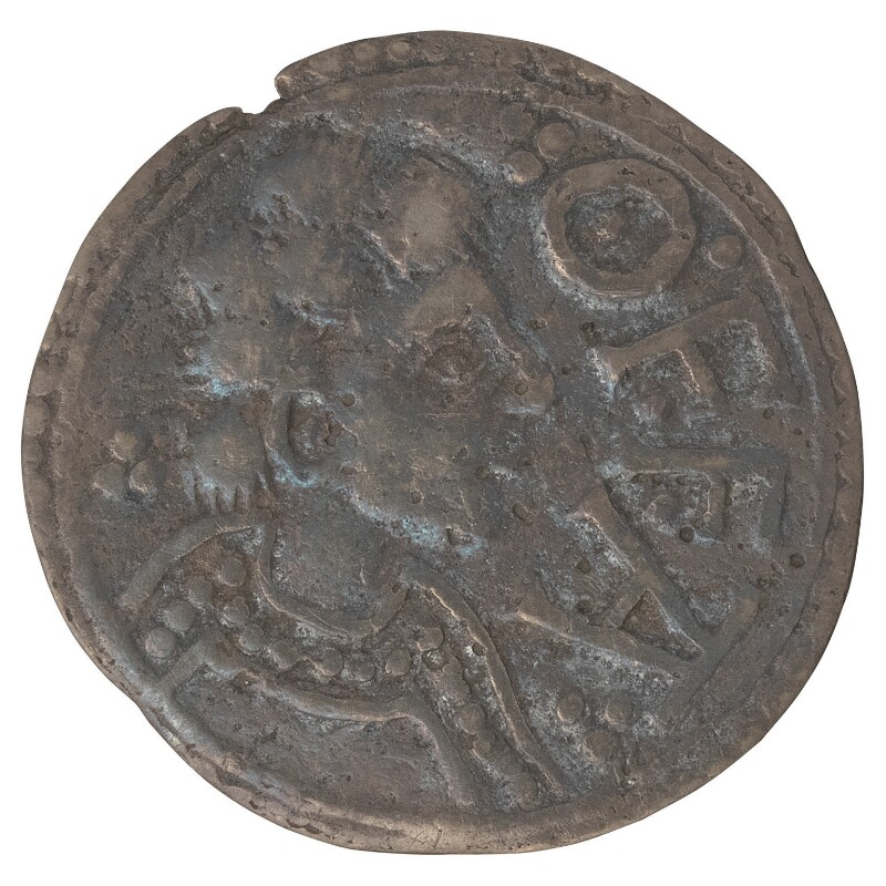 Offa, King of Mercia, by Unknown artist, circa 796 - NPG 4152 - © National Portrait Gallery, London