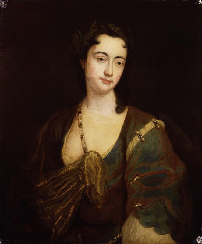 Anne Oldfield, by Unknown artist, circa 1705-1710 - NPG 431 - © National Portrait Gallery, London