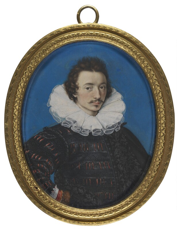 Isaac Oliver, by Isaac Oliver, circa 1590 - NPG 4852 - © National Portrait Gallery, London