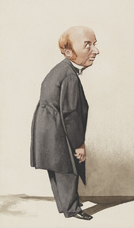 Sir Colman Michael O'Loghlen, 2nd Bt, by Adriano Cecioni, published in Vanity Fair 28 September 1872 - NPG 2735 - © National Portrait Gallery, London