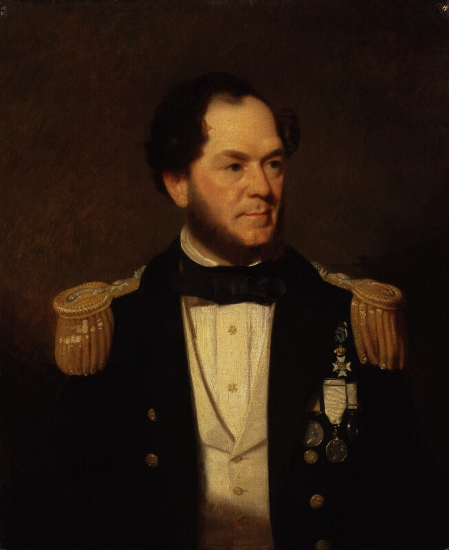 Sir Erasmus Ommanney, by Stephen Pearce, exhibited 1861 - NPG 1219 - © National Portrait Gallery, London